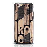 Funda Trasera Diseño / Other Other TPU Suave Printing, Woodcut Cubierta del caso para Apple iPhone 6s Plus/6 Plus / iPhone 6s/6