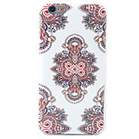 HD Painting The Corners With Floral Pattern Material TPU Phone Case For iPhone SE 5s 5 6s 6 6s Plus 6 Plus