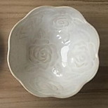 High-grade Ceramic Rose Bowl Tableware Plate