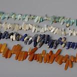 beadia cuentas de piedras naturales 10-30mm irregular de piedra forma los granos del espaciador 38 cm / str (aprox 50pcs)