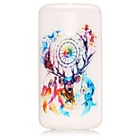 Dream Catcher Pattern Relief Glow in the Dark TPU Phone Case for Motorola Moto G4 Play / G 4