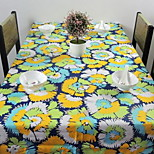 New Tablecloths Double Longitude Double Weft Cotton Side Table Tablecloth (140 * 140cm)