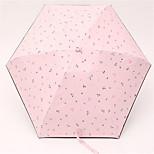 Small Fresh Sun Shade Umbrella Half Off Portable Mini