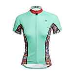 PaladinSport Women Short Sleeve Cycling Jersey DX650 The Mint Color