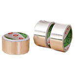 45mm Roll Silver Aluminium Foil Adhesive Sealing Tape Heating Duct (Random Color)