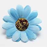 New Simulation Silk Flower Sunflower Half Slippers Handmade Clothing Accessories Artificial Flower Photography Props