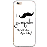 Pattern Cartoon Mustache PC Hard Case Back Cover For Apple iPhone 6s Plus/6 Plus/iPhone 6s/6/iPhone SE/5s/5
