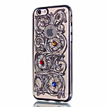 Per Custodia iPhone 6 / Custodia iPhone 6 Plus Other Custodia Custodia posteriore Custodia Fiori Mandala Resistente PC AppleiPhone 6s