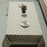 New Pastoral Thick Tassels Cloth Cotton Side Table Tablecloths (140 * 140cm)