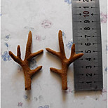 A Simulation Of Deer Antlers Shot Photography Items Christmas Ornaments Antlers