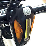 Bike Light,Bike Lights-1 Mode 100 Lumens Easy to Carry Otherx1 USB / Battery Cycling/Bike Black Bike
