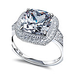New Solid 925 Sterling Silver Wedding Ring  Engagement Band Fashion Jewelry For Women Ring