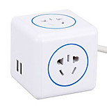 5 USB Hole Socket with  with a Procession Convenient to Charge Your Smartphone Line Card