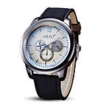 Men's Fashion Quartz Casual Sport Watch Fabric Belt Round Big Alloy Dial Watch Cool Watch Unique Watch