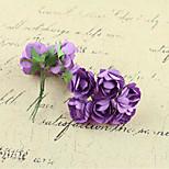 Glass Accessories Azaleas Paper Flowers Handmade Diy Accessories Materials Wreath