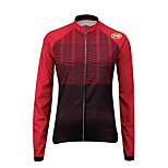 Sports Cycling Tops Women's Bike Breathable / Front Zipper  / Compression Long SleeveLYCRA® / Terylene /