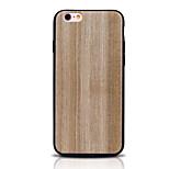 Funda Trasera Other de madera TPU Suave TPU  ,All Wood Cubierta del caso para Apple iPhone 6s Plus/6 Plus / iPhone 6s/6