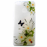 Daisy Butterfly Pattern Material TPU Phone Case for Huawei P9 P8 Lite P9 Lite