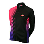 Sports Cycling Tops Women's Bike Breathable / Front Zipper / Wearable / Compression Long SleeveLYCRA® /