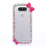 DIY Mei Red Bowknot Pattern PC Hard Case for Multiple LG G3 G4 G5 G5SE V10 K10 K7 K4