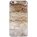 Funda Trasera Other Other PC Duro Marble Texture Crust Cubierta del caso para Apple iPhone 6s Plus/6 Plus / iPhone 6s/6