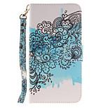 Para Samsung Galaxy Note7 Cartera / Soporte de Coche / Flip / Diseños Funda Cuerpo Entero Funda Flor Dura Cuero Sintético SamsungNote 7 /