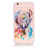 TPU material The New Campanula Deer Pattern Luminous Phone Case for  iPhone 6s Plus / 6 Plus/6S/6/SE / 5s / 5