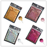 1pcs Nail Art Beautiful Color Colorful Laser Glitter Powder Nail DIY Decoration L01-04