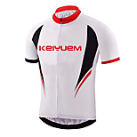 KEIYUEM ®Unisex Cycling Clothing  Short Sleeve Bike Spring / SummerWaterproof / Breathable / Quick Dry Waterproof