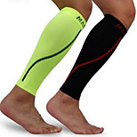 Men Black Nylon Running Knee Brace
