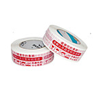 44 * 23 High Adhesive Tape Packager Special Warnings Red Tape (2 Rolls A Red Warnings)