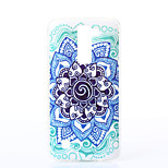 Mandala Pattern TPU Material Phone Case for LG K10/K7