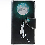 Balloon Pattern PU Leather Full Body Case with Stand and Card Slot for HTC Desire 626