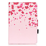 PU Leather Material Love Embossed  Pattern Tablet Sleeve for iPad mini 1 / 2 / 3