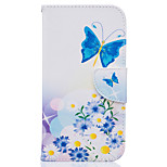 Flower Pattern PU Leather Full Body Leather Case with Card Slots for Motorola Moto G4 Plus/G4