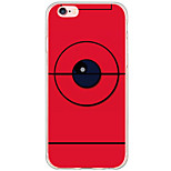 Per Custodia iPhone 6 / Custodia iPhone 6 Plus Resistente agli urti / A prova di sporco / Transparente / Fantasia/disegno Custodia