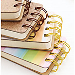 Korea Cute Creative Portable Coil Inside Pages Blank Notebook