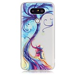 Luminous Tree Lovers Pattern TPU Phone Case For LG G5/K5/K7/K8/K10