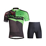PaladinSport Women  Cycyling Jersey + Shorts Suit DT689 Green Move Era
