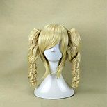 5 Colors  Cosplay Wigs Capless  Synthetic 16 inches Long Curly Hair Wig  for Woman Costume and Party Wig