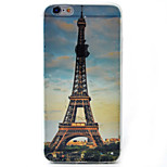 Eiffel Tower Pattern Material TPU Phone Case For iPhone 6s/6/6s Plus/6 Plus
