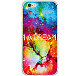 Para Funda iPhone 6 / Funda iPhone 6 Plus Diseños Funda Cubierta Trasera Funda Gradiente de Color Dura Policarbonato AppleiPhone 6s
