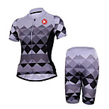 KEIYUEM® Cycling Jersey with Shorts Unisex Short Sleeve BikeBreathable / Quick Dry / Dust Proof / Wearable / Sweat-wicking / Compression