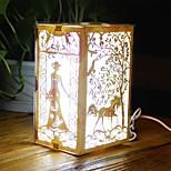 1 stk ledet kreativ håndarbeid bursdagsgave Valentinsdag nterior dekorasjon natt lys