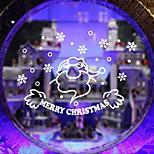 Christmas Window Sticker Contemporary , Art Deco 35*57CM