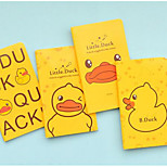 7820 Wholesale Korea Stationery Cute Little Yellow Duck New Car Notebook Notepad 60K Trumpet