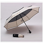 Small Fragrant Wind Small Fragrant Sunny Umbrella Uv Umbrella Three Folding Umbrella Automatic Umbrella