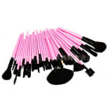 32pcs Makeup Brushes Set Synthetic Hair Portable Wood Face Others