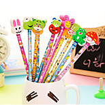 B10-1-07 Cheap Student Prizes Lovely Gift Ideas Corporate Gifts Pencil With A Rubber Sleeve T