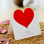 Korea Creative Diy Holiday Greetings Love Stereo-Blank Greeting Card Wedding Heart-Shaped Cards